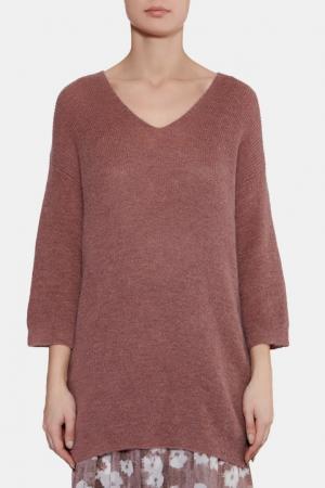 Коричневый пуловер Les Copains