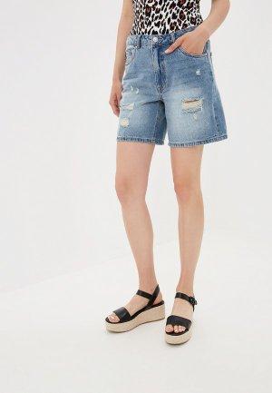 Шорты джинсовые Only. Цвет: голубой