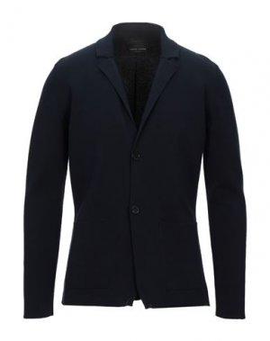 Пиджак ROBERTO COLLINA. Цвет: темно-синий
