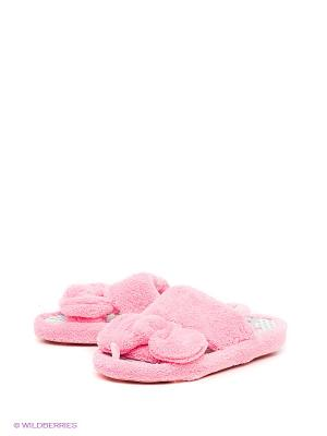 Тапочки Home story. Цвет: розовый