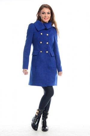Пальто Ines Collezione. Цвет: синий