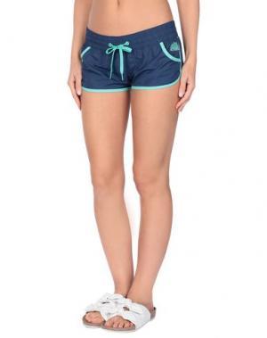 Пляжные брюки и шорты SUNDEK. Цвет: синий