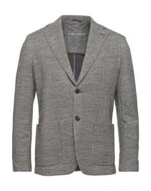 Пиджак CIRCOLO 1901. Цвет: темно-коричневый