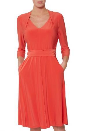 Dress Gina Bacconi. Цвет: orange