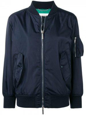 Куртка-бомбер Alitalia Alberta Ferretti. Цвет: синий