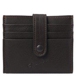 Холдер д/кредитных карт R18030 темно-коричневый GERARD HENON