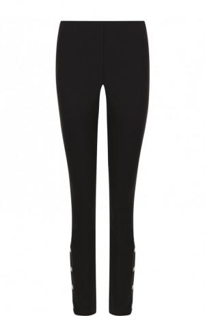 Укороченные расклешенные джинсы Rag&Bone. Цвет: черный