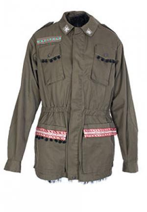 Куртка PARIS FROU. Цвет: зеленый
