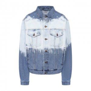 Джинсовая куртка Forte Dei Marmi Couture. Цвет: синий