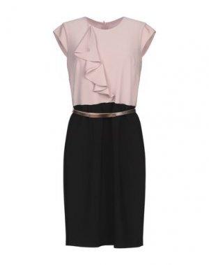 Короткое платье JOSEPH RIBKOFF. Цвет: пастельно-розовый