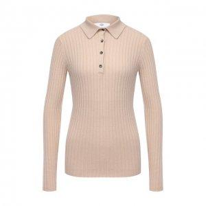 Кашемировый пуловер Allude. Цвет: бежевый
