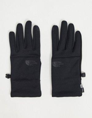 Черные перчатки Etip-Черный The North Face