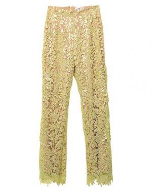 Повседневные брюки FOREVER UNIQUE. Цвет: кислотно-зеленый