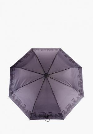 Зонт складной Goroshek. Цвет: черный