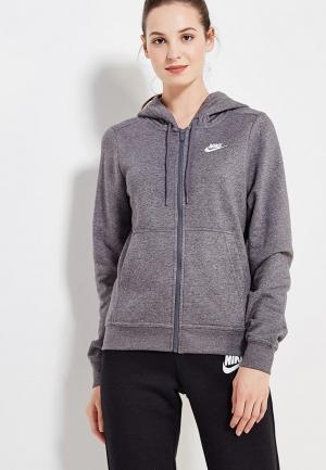 Толстовка Nike Sportswear Womens Hoodie. Цвет: серый