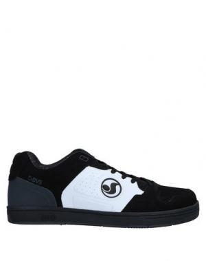 Низкие кеды и кроссовки DVS SHOE COMPANY. Цвет: черный