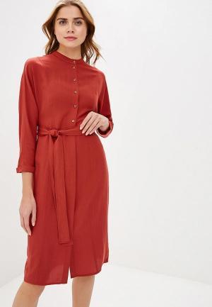 Платье Mango - NORTE. Цвет: коричневый