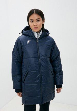 Куртка утепленная Forward. Цвет: синий