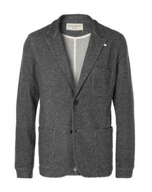Пиджак OLIVER SPENCER. Цвет: свинцово-серый