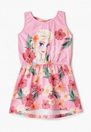 Платье Disney. Цвет: розовый