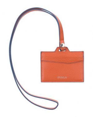 Чехол для документов FURLA. Цвет: оранжевый