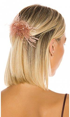 Гребень для волос Loeffler Randall. Цвет: розовый