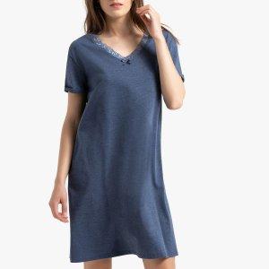 Рубашка LaRedoute. Цвет: черный