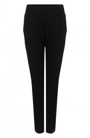 Хлопковые брюки Escada Sport. Цвет: чёрный