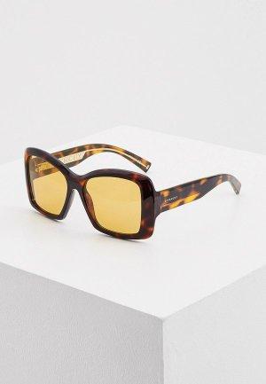 Очки солнцезащитные Givenchy GV 7186/S WR9. Цвет: коричневый