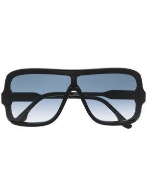 Солнцезащитные очки-авиаторы Victoria Beckham Eyewear. Цвет: черный