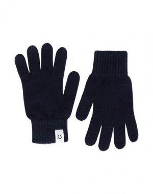 Перчатки Rifò. Цвет: темно-синий