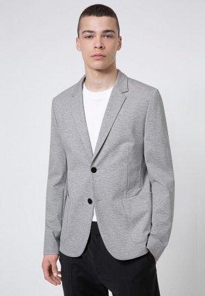 Пиджак Hugo Agaltus204J1. Цвет: серый