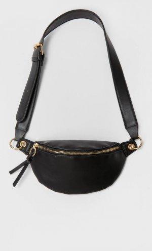 Поясная Сумка С Кольцами Женская Коллекция Черный 103 Stradivarius. Цвет: черный