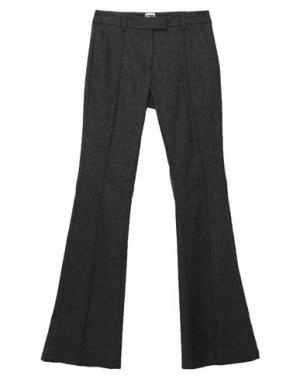 Повседневные брюки I'M ISOLA MARRAS. Цвет: стальной серый