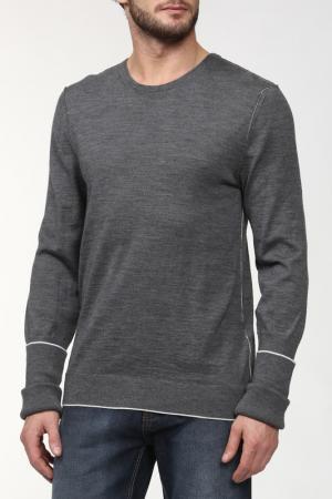 Пуловер вязаный Kris Van Assche. Цвет: серый