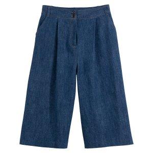 Юбка-брюки La Redoute. Цвет: синий