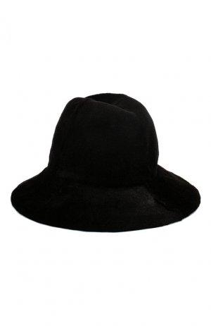 Шляпа из меха норки Kussenkovv. Цвет: черный