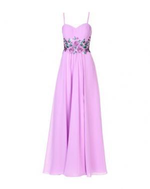 Длинное платье MIKAEL. Цвет: сиреневый