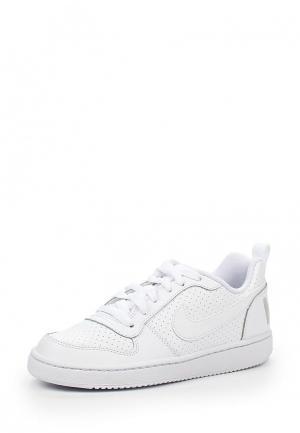 Кроссовки Nike Boys Court Borough Low (GS) Shoe. Цвет: белый
