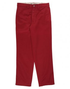 Повседневные брюки DOCKERS. Цвет: красный