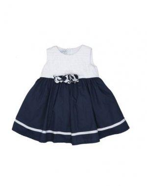 Платье BABY GRAZIELLA. Цвет: темно-синий