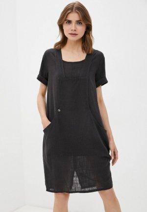 Платье Dimma. Цвет: черный