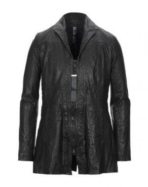 Легкое пальто FREAKY NATION. Цвет: черный