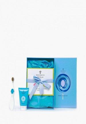 Набор для ухода за полостью рта Montcarotte Pure Kids Present Set (7 предметов) / Подарочный детей Нейтральный 0+ предметов), 5 мл * + 30. Цвет: разноцветный