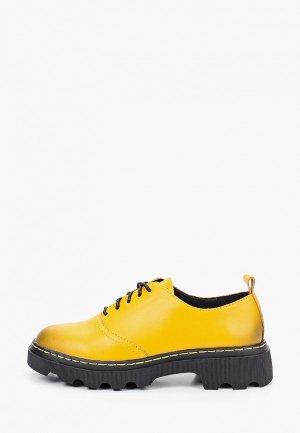 Ботинки Alessio Nesca. Цвет: желтый