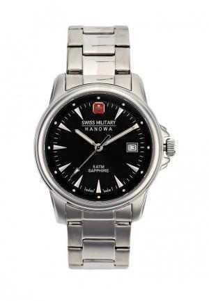 Часы Swiss Military Hanowa. Цвет: серебряный