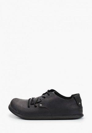 Ботинки Birkenstock Montana NU Oiled Black R. Цвет: черный
