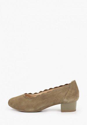 Туфли Caprice Увеличенная полнота, Comfort. Цвет: хаки