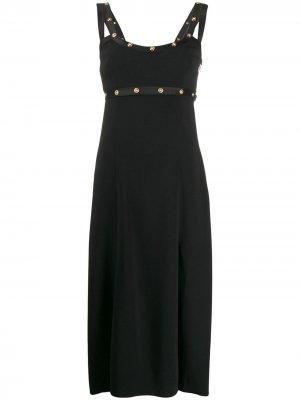 Вечернее платье Abito Donna Versace. Цвет: черный