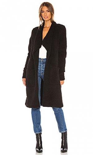 Пальто toni NSF. Цвет: черный